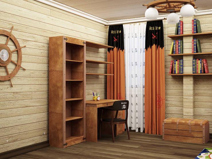 Детские: Детские комнаты в . Автор – ООО ПрофЭксклюзив Студия дизайна интерьеров