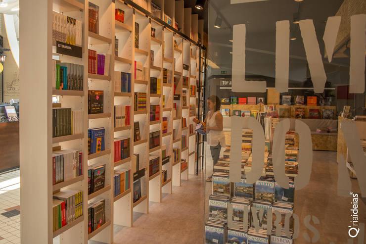 Livraria do Mercado : Lojas e espaços comerciais  por Q'riaideias