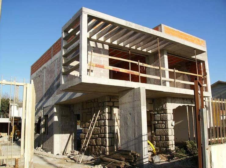 Projekty,  Domy zaprojektowane przez Arqtª Manuela Soutinho