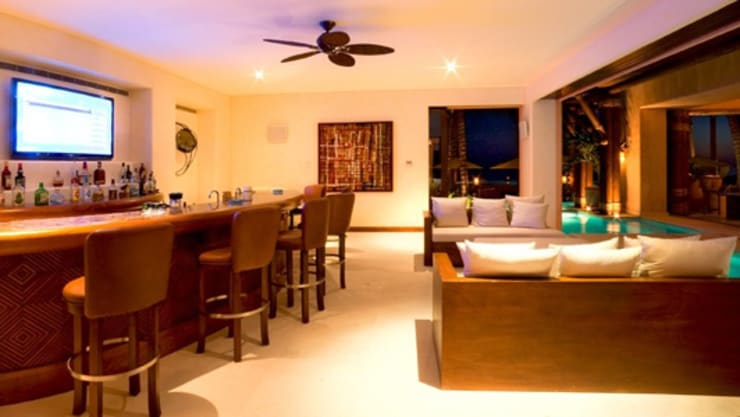 Casa Siete: Salas de estilo  por BR  ARQUITECTOS