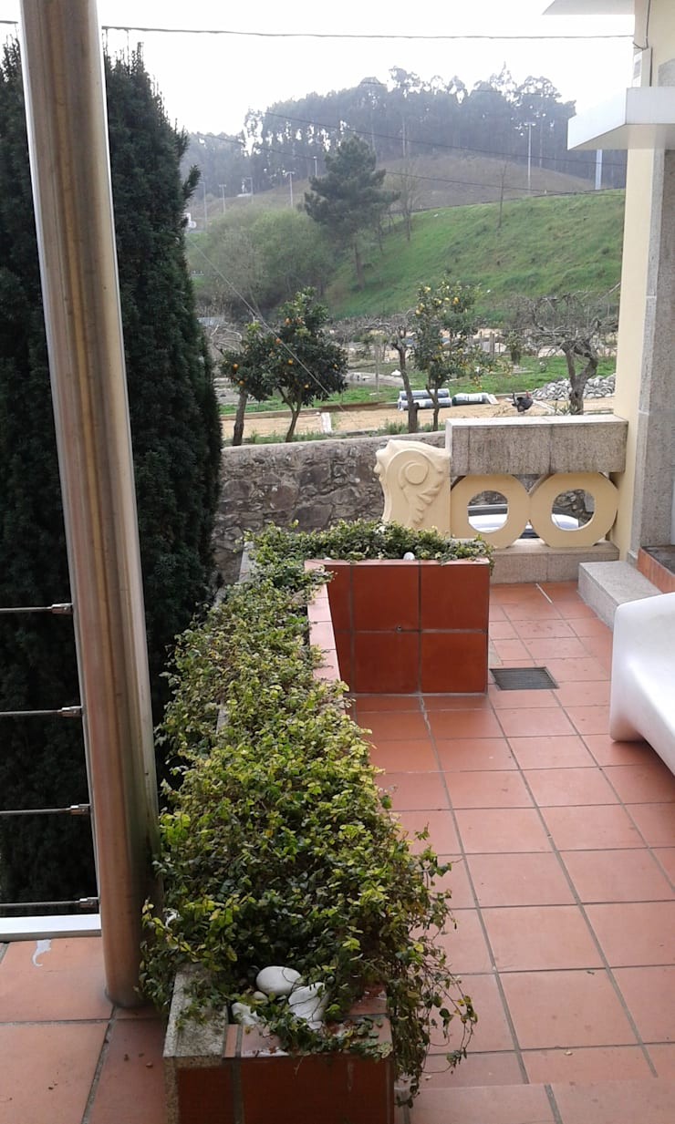 Casa Olimpio: Casas  por Arqtª Manuela Soutinho
