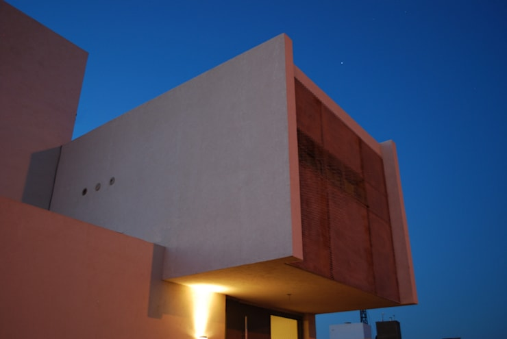 Casa en Manatiales – Casa del músico: Casas de estilo  por barqs bisio arquitectos
