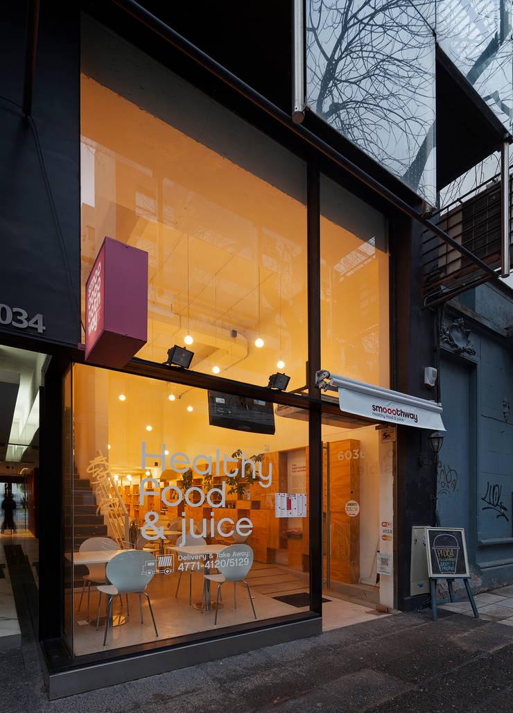 Smoothway Soler: Casas de estilo minimalista por IR arquitectura