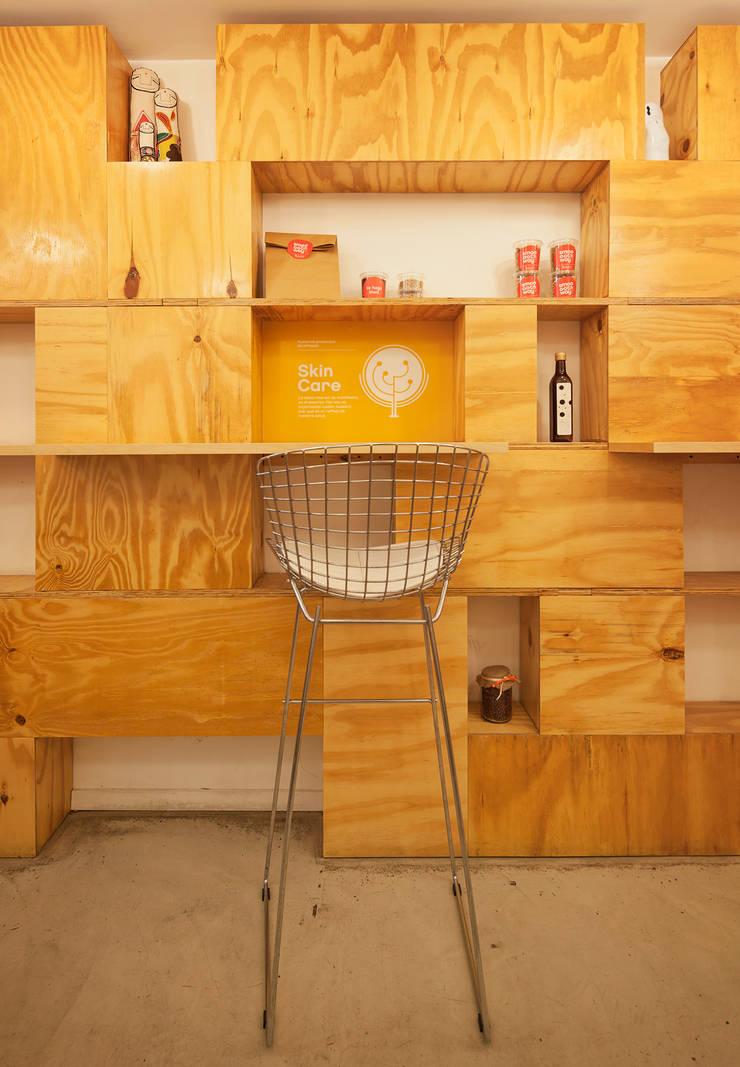 Smoothway Soler de IR arquitectura Minimalista Madera Acabado en madera