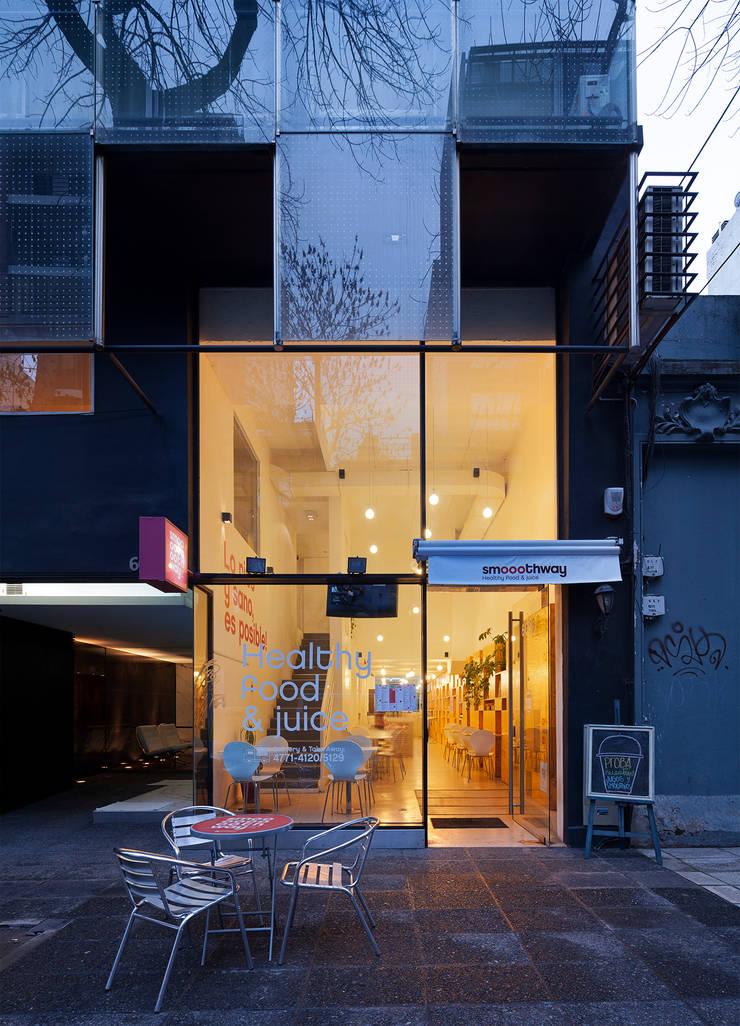 Smoothway Soler Casas minimalistas de IR arquitectura Minimalista Madera Acabado en madera