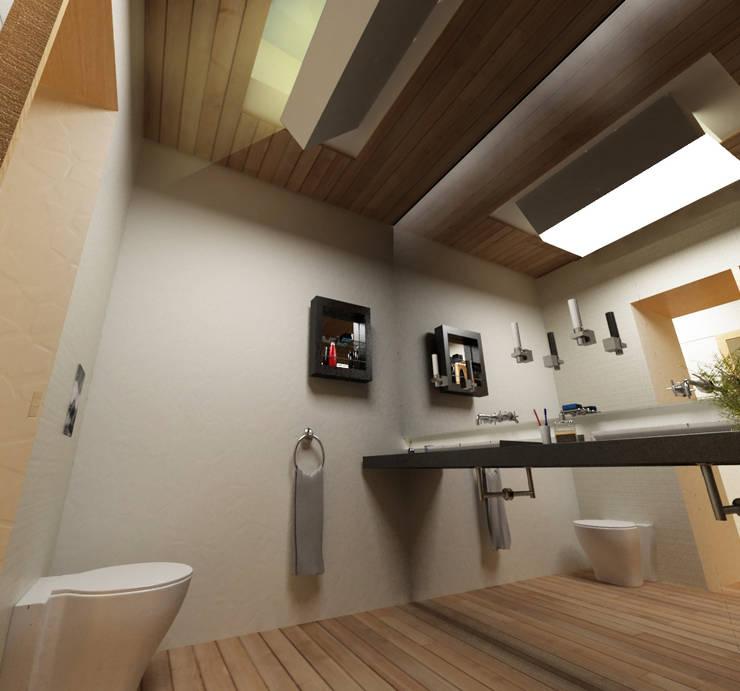 GAUDIprojectos의  욕실