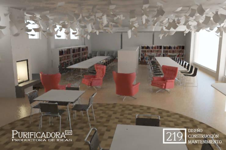 Biblioteca:  de estilo  por VIVAinteriores