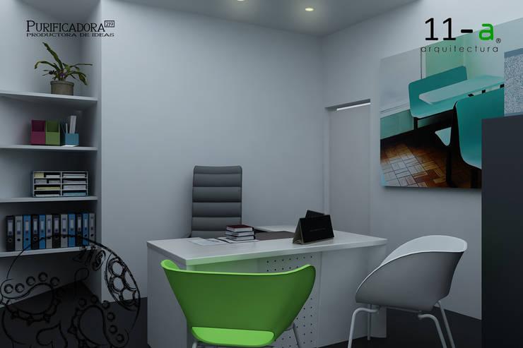 Casa-Oficina:  de estilo  por VIVAinteriores