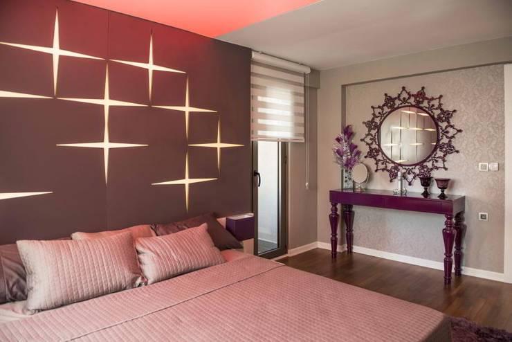 VERO CONCEPT MİMARLIK – Statü Güzelyurt Konutları: modern tarz Yatak Odası