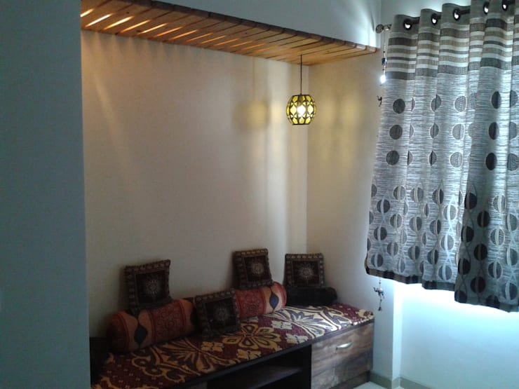 3bhk Residential Flat at Dhanori:  Bedroom by Global Associiates