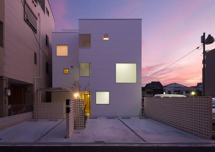 西田辺の家・ネコと夫婦の家: 大野アトリエが手掛けた家です。