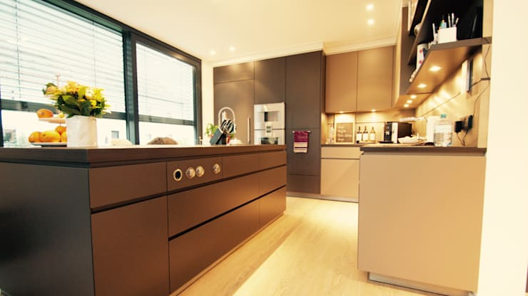 Projekty,  Kuchnia zaprojektowane przez moser straller architekten