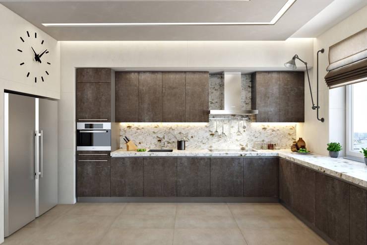 Кухня : Кухни в . Автор – СВЕТЛАНА АГАПОВА ДИЗАЙН ИНТЕРЬЕРА