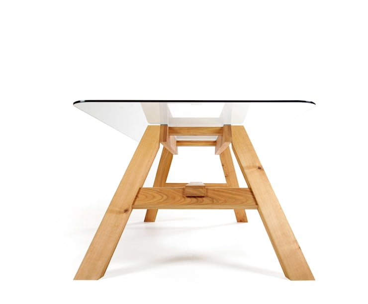 Stół 33.1: styl , w kategorii  zaprojektowany przez mazzivo ,Nowoczesny Drewno O efekcie drewna