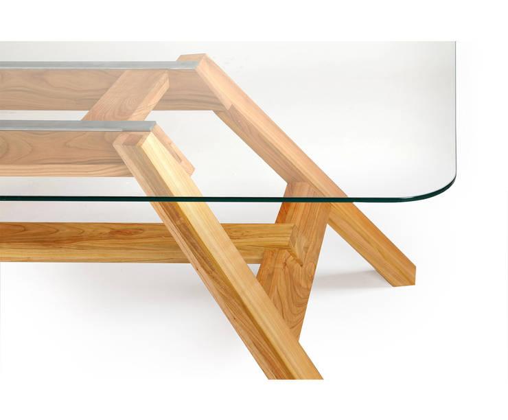 Stół 33.1: styl , w kategorii  zaprojektowany przez mazzivo ,Nowoczesny Szkło
