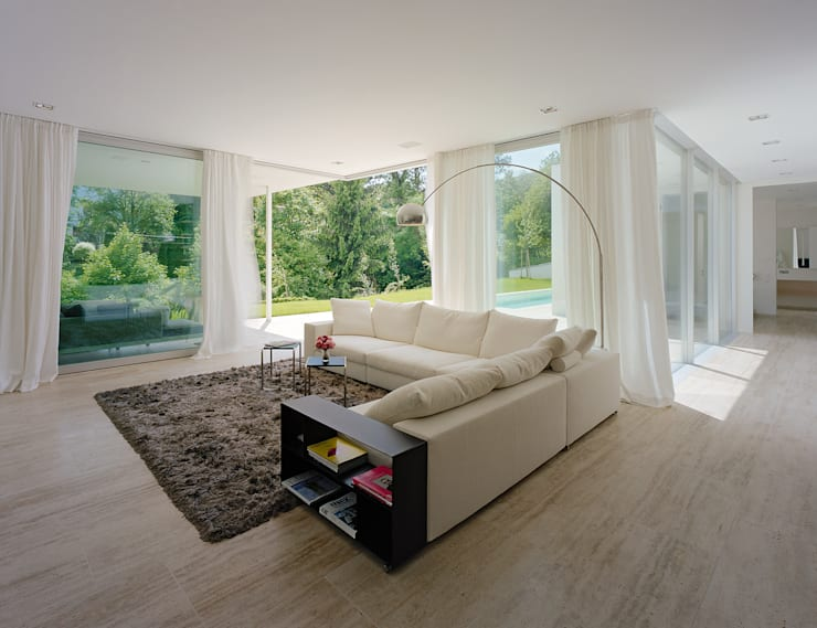SILVERGIRL: moderne Wohnzimmer von DREER2