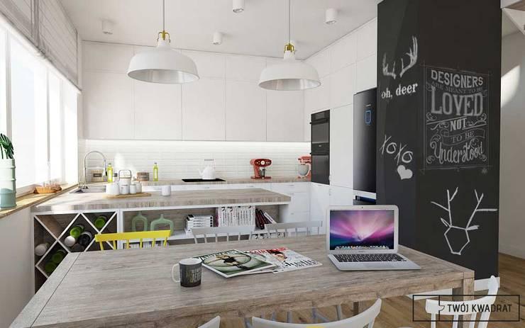 Mieszkanie Warszawa Wesoła: styl , w kategorii  zaprojektowany przez Twój Kwadrat