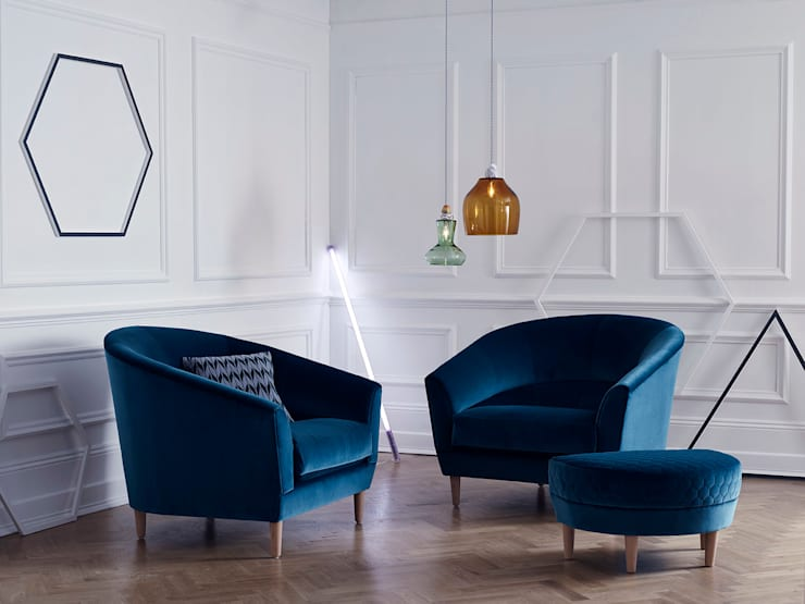 moderne Wohnzimmer von Kirsty Whyte
