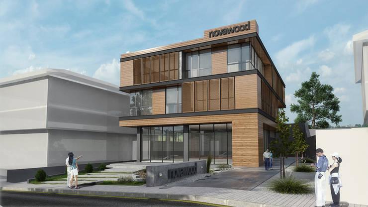 Studio Vertebra – Norawood Ofisleri:  tarz Evler, Modern