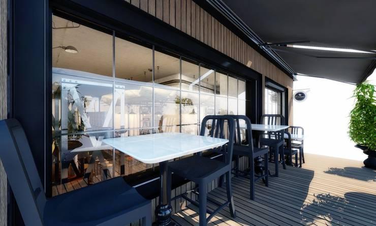 Studio Vertebra – Orhan Kurukahve:  tarz Yemek Odası, Modern