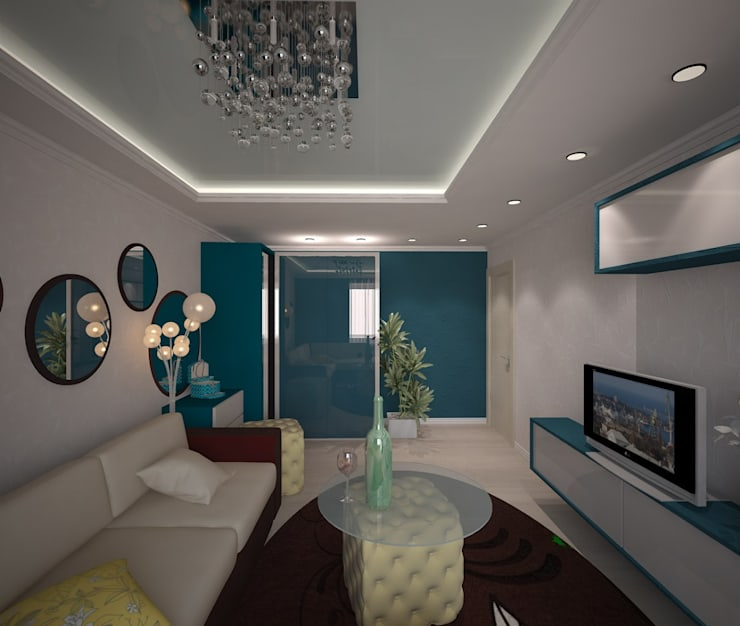 Living room by 3D студия, Classic