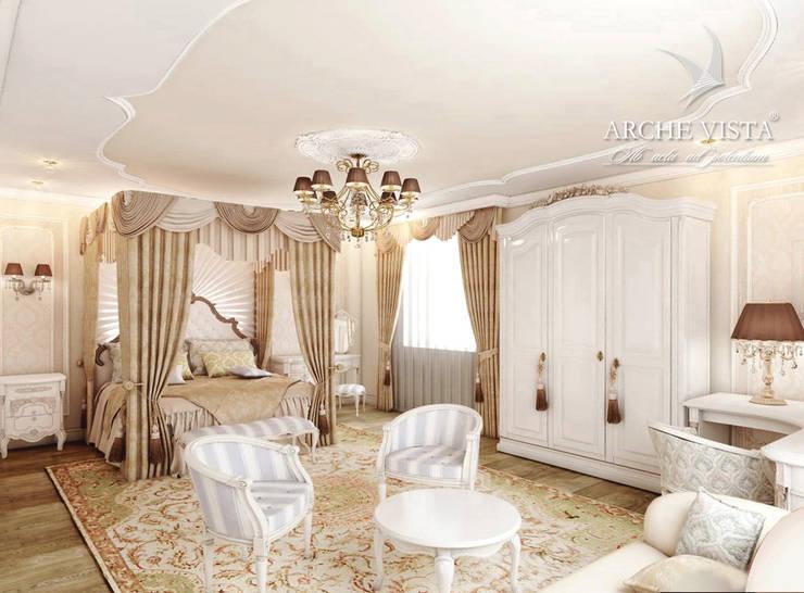 #2: styl , w kategorii Sypialnia zaprojektowany przez ARCHE VISTA