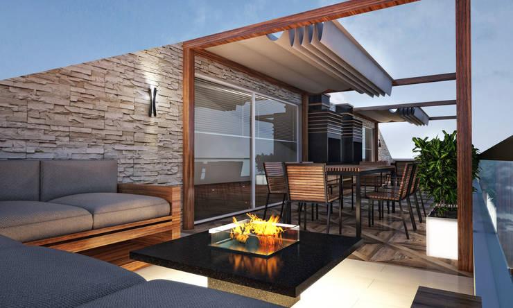 BWorks  – TD HOUSE:  tarz Teras, Modern