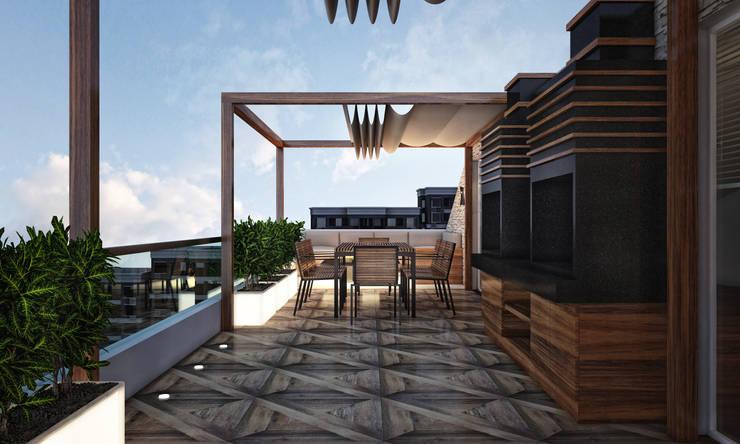 BWorks  – TD HOUSE:  tarz Banyo, Modern