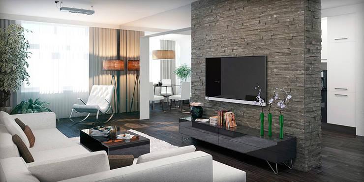 #1: styl , w kategorii Salon zaprojektowany przez ARCHE VISTA