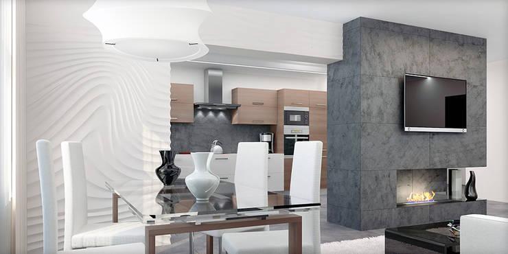 #1: styl , w kategorii Jadalnia zaprojektowany przez ARCHE VISTA