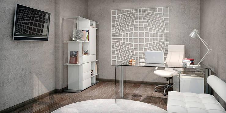 #1: styl , w kategorii Domowe biuro i gabinet zaprojektowany przez ARCHE VISTA