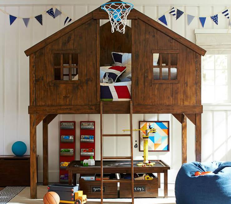 Dormitorios infantiles de estilo  por Çelebi Ahşap & İç Dekorasyon ve Tasarım