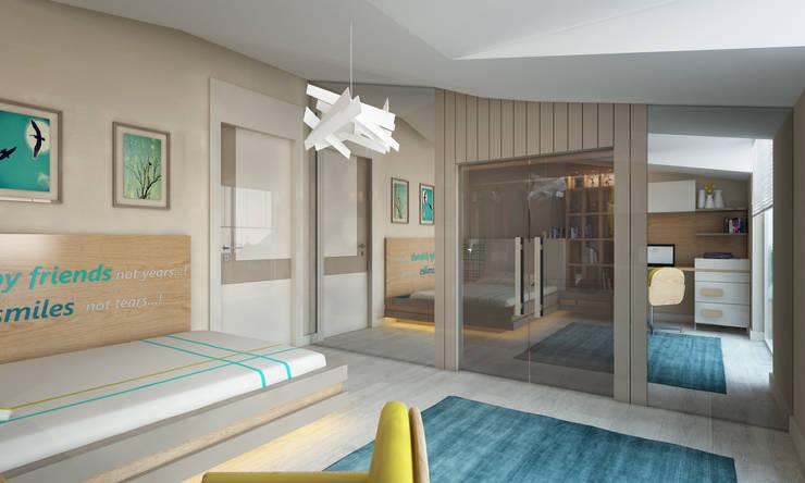 BWorks  – CHILDREN ROOM DESIGNS:  tarz Çocuk Odası