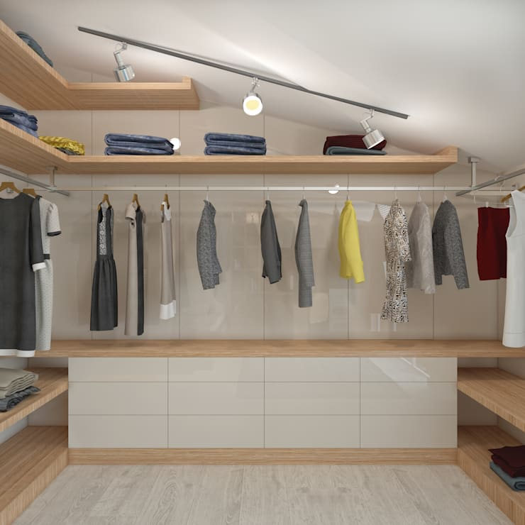 BWorks  – CHILDREN ROOM DESIGNS:  tarz Giyinme Odası