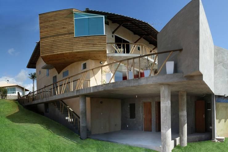 Casa Ecológica I: Casas  por alexis vinícius arquitetura e design,