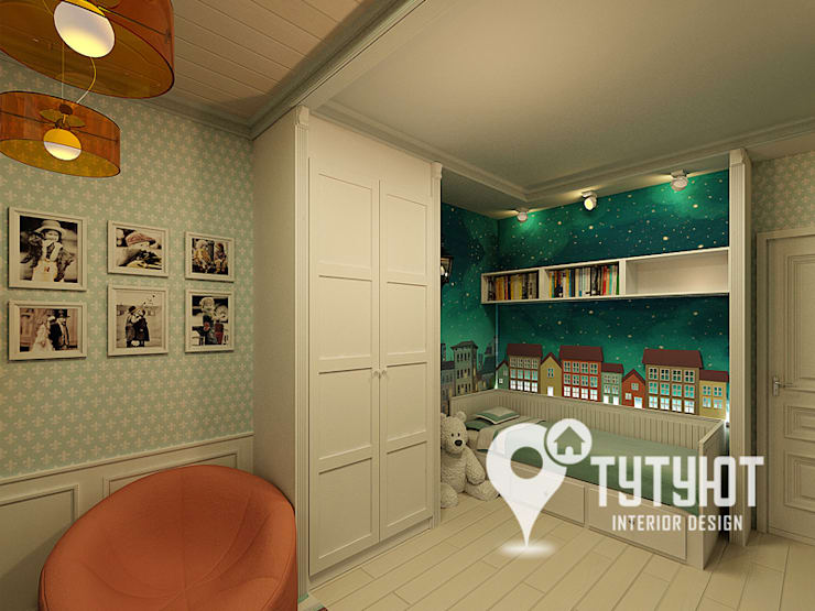 Interior Design Studio Tut Yut의  아이방