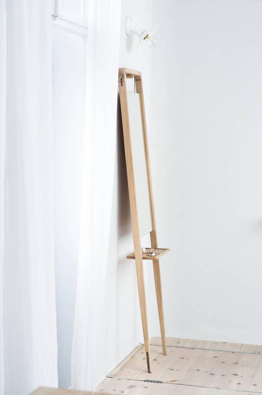 M2 Lustro: styl , w kategorii Sypialnia zaprojektowany przez Loft Kolasiński