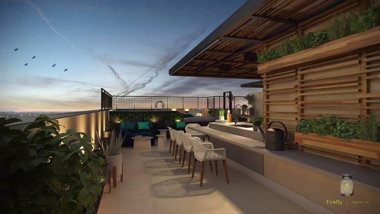 Reforma Apartamento Place: Terraços  por STUDIO 52,