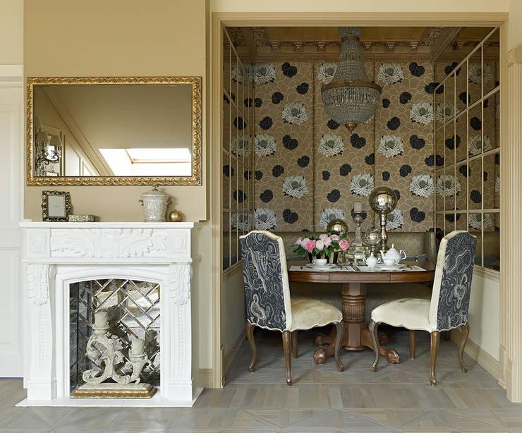 Projekty,  Salon zaprojektowane przez Olga Kulikovskaia-Ashby