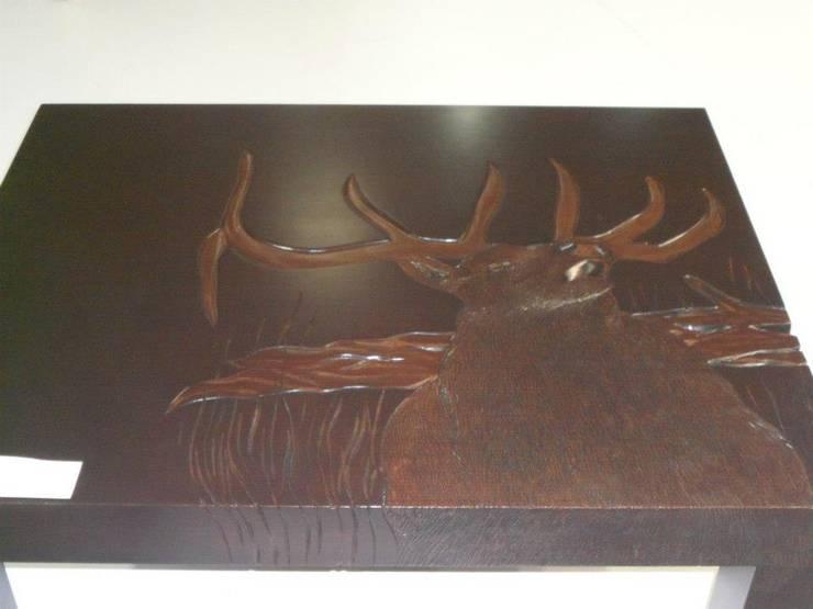 Hasan Dağ Ahşap Oyma el Sanatları – Hasan Dağ Çalışmaları:  tarz İç Dekorasyon