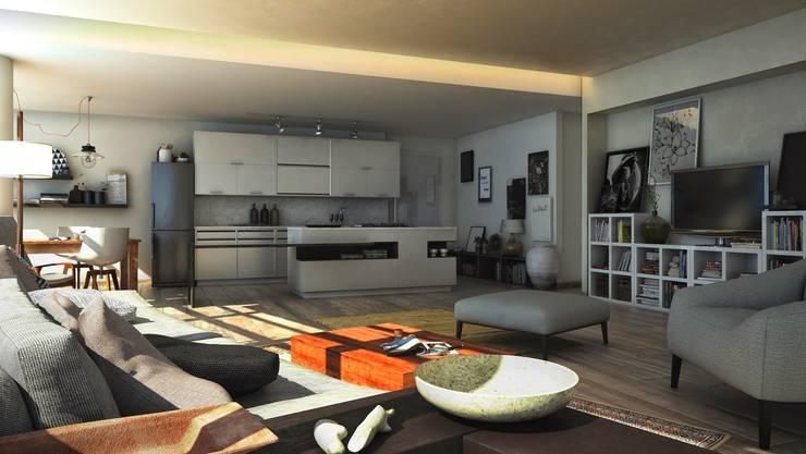 Proyecto Nahuel Huapi : Cocinas de estilo moderno por Let´s Go