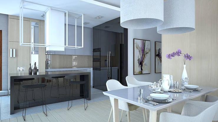 PROJEKT 2: styl , w kategorii  zaprojektowany przez ELITE HOME