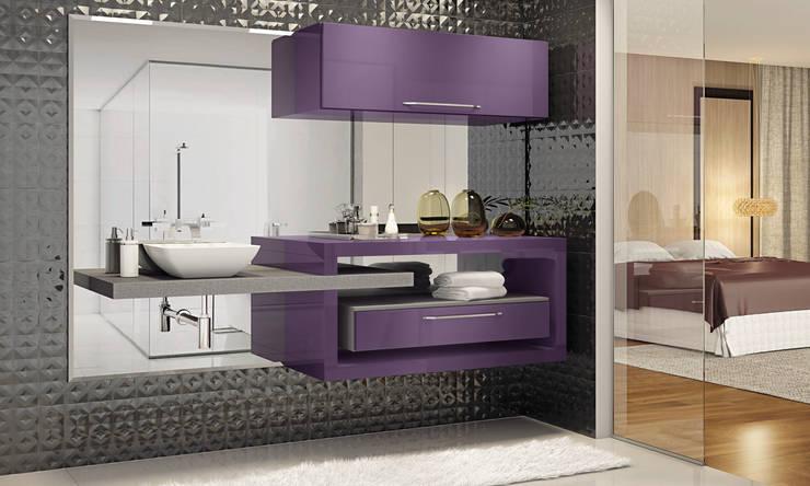 Banheiro:   por Fabrik Ambientes Planejados,Moderno MDF