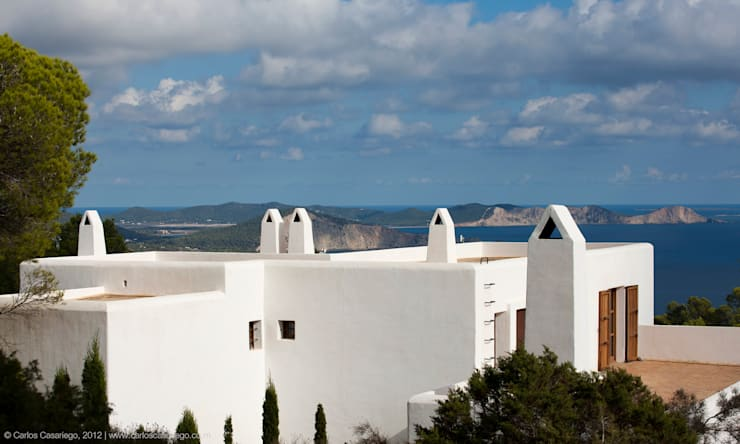 Casas campestres por Rios-Casariego Arquitectos