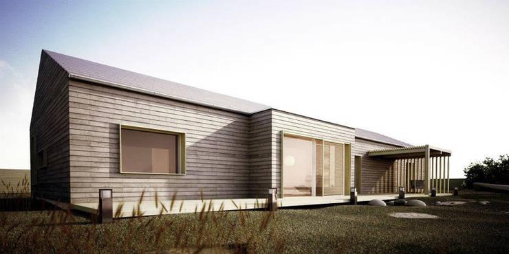 Projekty domów - House 26: styl , w kategorii Domy zaprojektowany przez Majchrzak Pracownia Projektowa