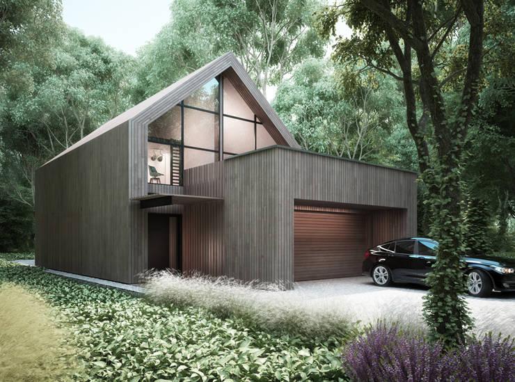 Majchrzak Pracownia Projektowa의  주택