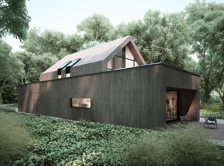 房子 by Majchrzak Pracownia Projektowa