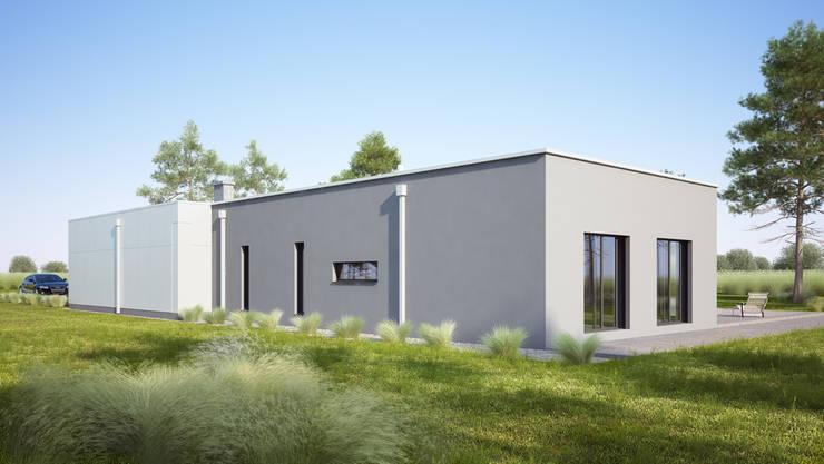 Projekty domów - House 11.1: styl , w kategorii Domy zaprojektowany przez Majchrzak Pracownia Projektowa
