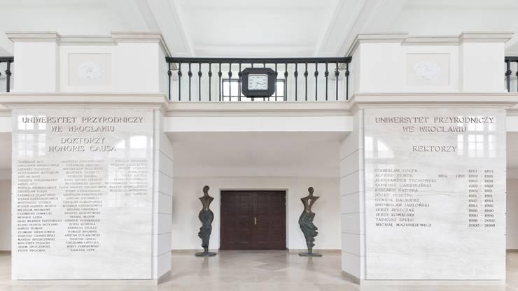 Uniwersytet Przyrodniczy, Wrocław: styl , w kategorii  zaprojektowany przez Majchrzak Pracownia Projektowa