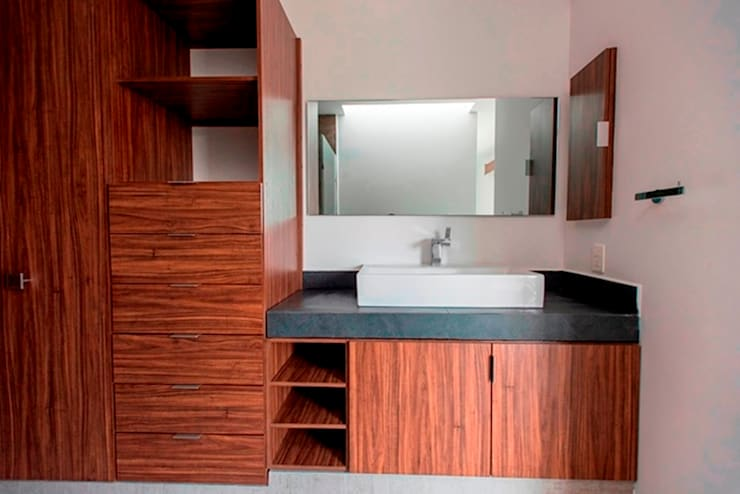 Lavabo: Baños de estilo  por JF ARQUITECTOS